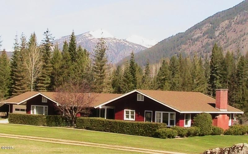 Single Family Home for Sale at 279 Upper River Road Heron, Montana 59844 United States