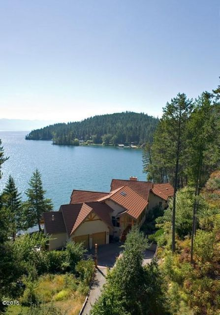 Single Family Home for Sale at 335 Hughes Bay Road Lakeside, Montana 59922 United States