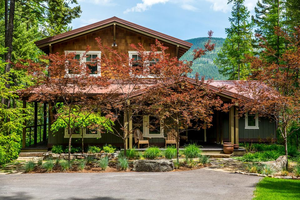 Single Family Home for Sale at 859 Delrey Road 859 Delrey Road Whitefish, Montana,59937 United States