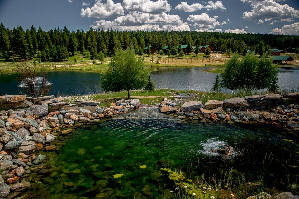 Single Family Home for Sale at 177 Magnesia Creek Road Trego, Montana 59934 United States