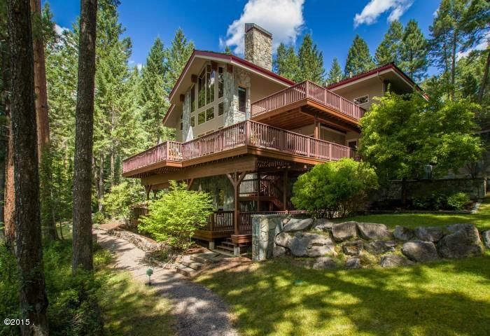 Single Family Home for Sale at 20841 Osprey Loop Rollins, Montana 59931 United States
