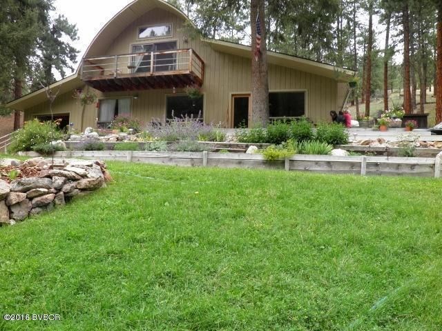 Single Family Home for Sale at 236 Robbins Gulch Road Conner, Montana 59827 United States