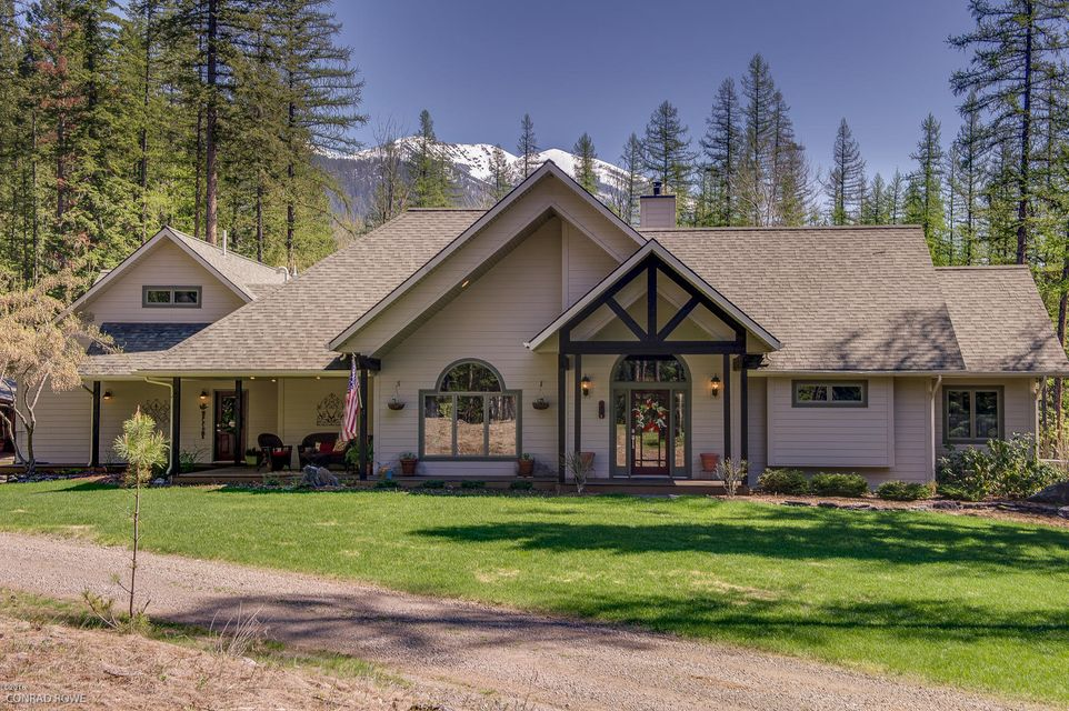 Single Family Home for Sale at 205 Landmark Lane Bigfork, Montana 59911 United States