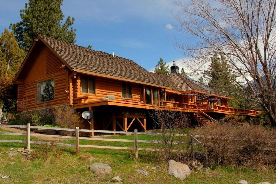 Single Family Home for Sale at 54590 Ramshead Lane St. Ignatius, Montana 59865 United States