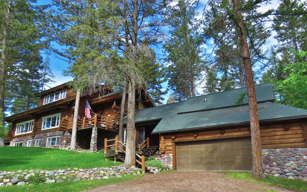 Single Family Home for Sale at 2100 Four Mile Drive 2100 Four Mile Drive Kalispell, Montana 59901 United States