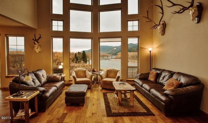 Single Family Home for Sale at 16561 Clark Bluff Drive Huson, Montana 59846 United States