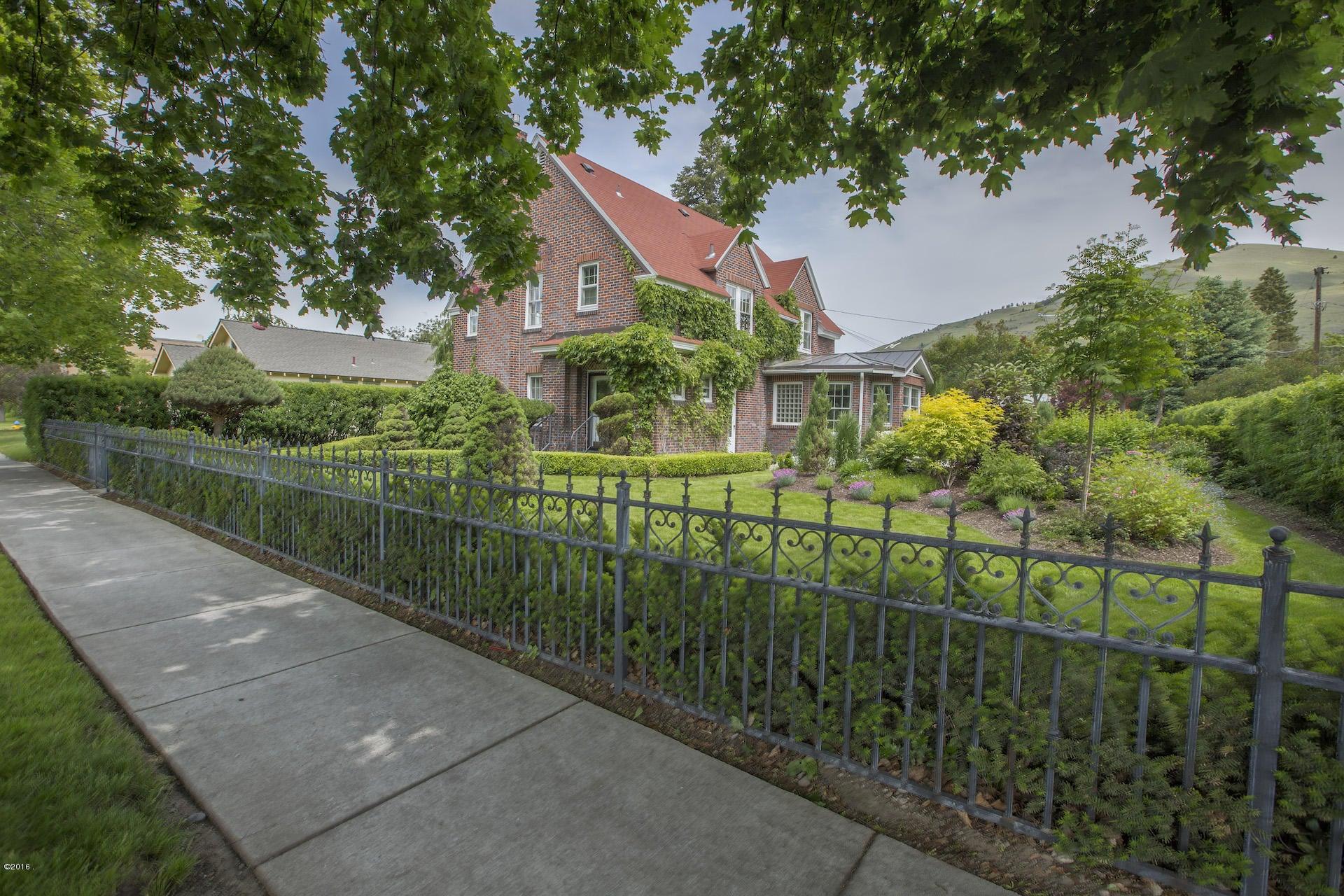 Single Family Home for Sale at 1730 South Higgins Avenue Missoula, Montana 59801 United States