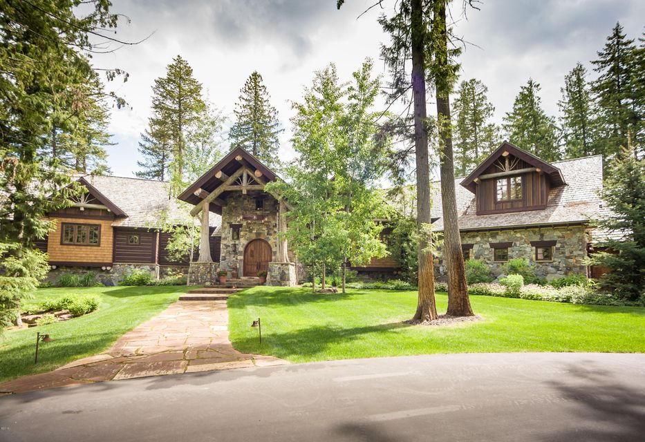 Single Family Home for Sale at Nhn Carney Creek Road Bigfork, Montana 59911 United States