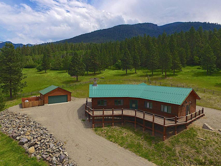 Single Family Home for Sale at 56140 Grizzly Hollow Lane St. Ignatius, Montana 59865 United States