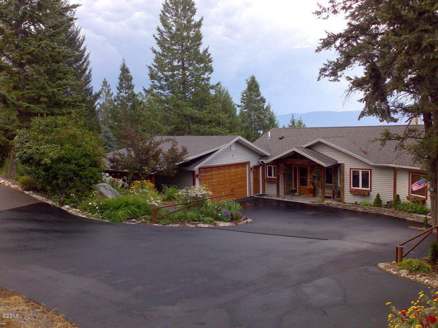 Single Family Home for Sale at 218 Deer Trail Somers, Montana 59932 United States