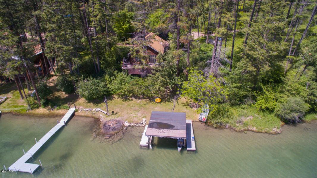 Single Family Home for Sale at 301 Hughes Bay Road 301 Hughes Bay Road Lakeside, Montana 59922 United States