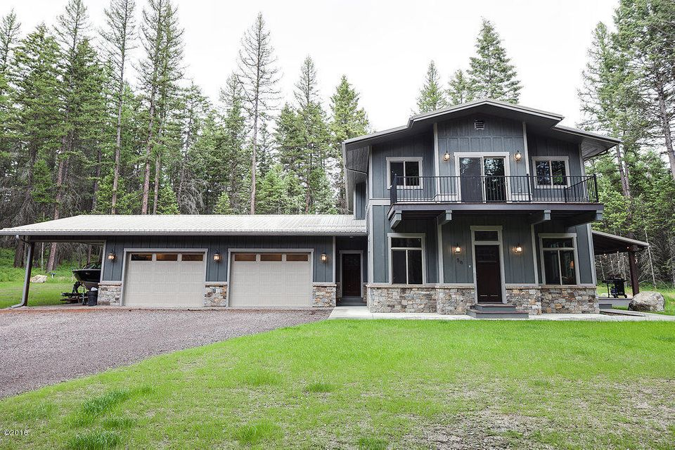 Single Family Home for Sale at 259 Hidden Ridge Trail Whitefish, Montana 59937 United States