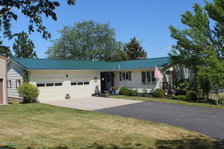 Single Family Home for Sale at 34558 Us Highway 93 34558 Us Highway 93 Big Arm, Montana 59910 United States