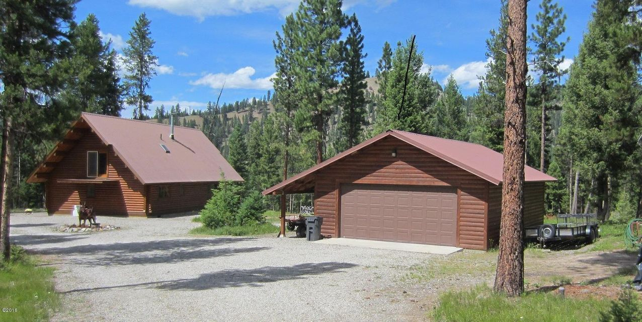 Single Family Home for Sale at 9188 Lookout Mtn Road Darby, Montana 59829 United States