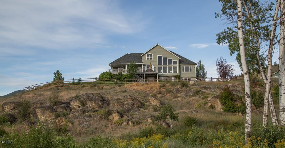 Single Family Home for Sale at 396 Wild Moose Springs Road Corvallis, Montana 59828 United States