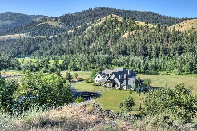 Single Family Home for Sale at 1305 Skalkaho Highway 1305 Skalkaho Highway Hamilton, Montana 59840 United States