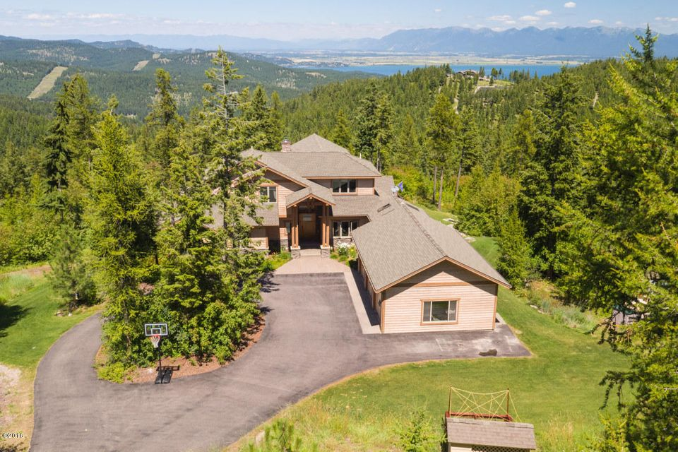 Single Family Home for Sale at 550 Blacktail Heights 550 Blacktail Heights Lakeside, Montana 59922 United States