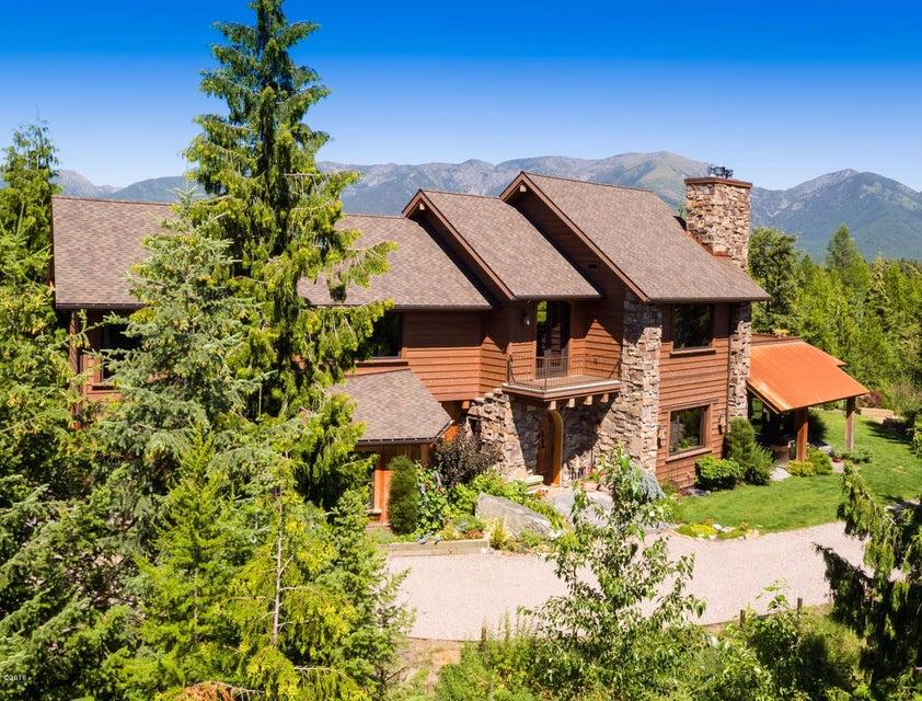 Single Family Home for Sale at 13521 Bug Creek Road Bigfork, Montana 59911 United States