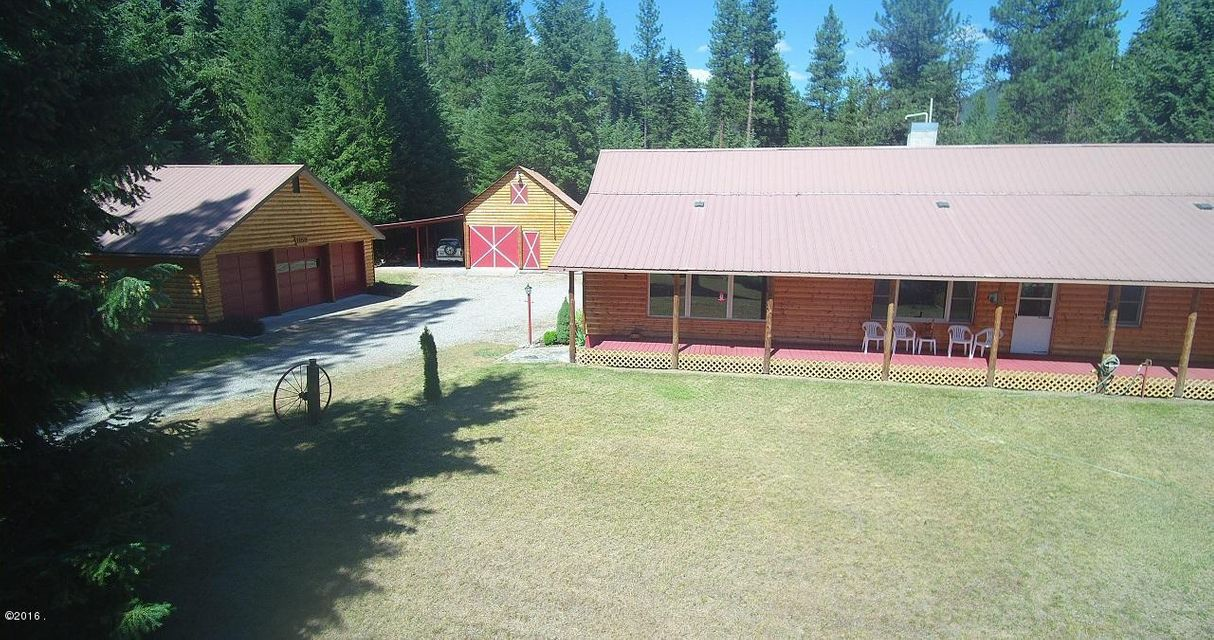 Single Family Home for Sale at 11650 Mullan Gulch Road St. Regis, Montana 59866 United States