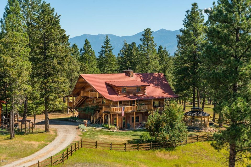 Single Family Home for Sale at 4936 West Kootenai Road Rexford, Montana 59930 United States