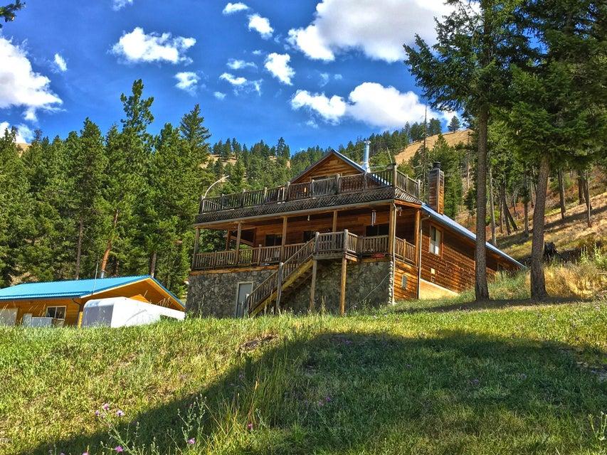 Casa Unifamiliar por un Venta en 116 Whiskey Gulch Road Conner, Montana,59827 Estados Unidos