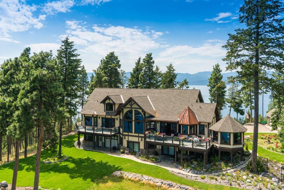 Single Family Home for Sale at 14896 Yenne Point Road 14896 Yenne Point Road Bigfork, Montana 59911 United States