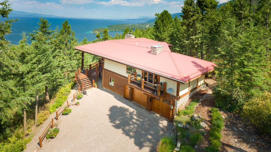 Single Family Home for Sale at 31922 Lake To Sky Road Bigfork, Montana 59911 United States