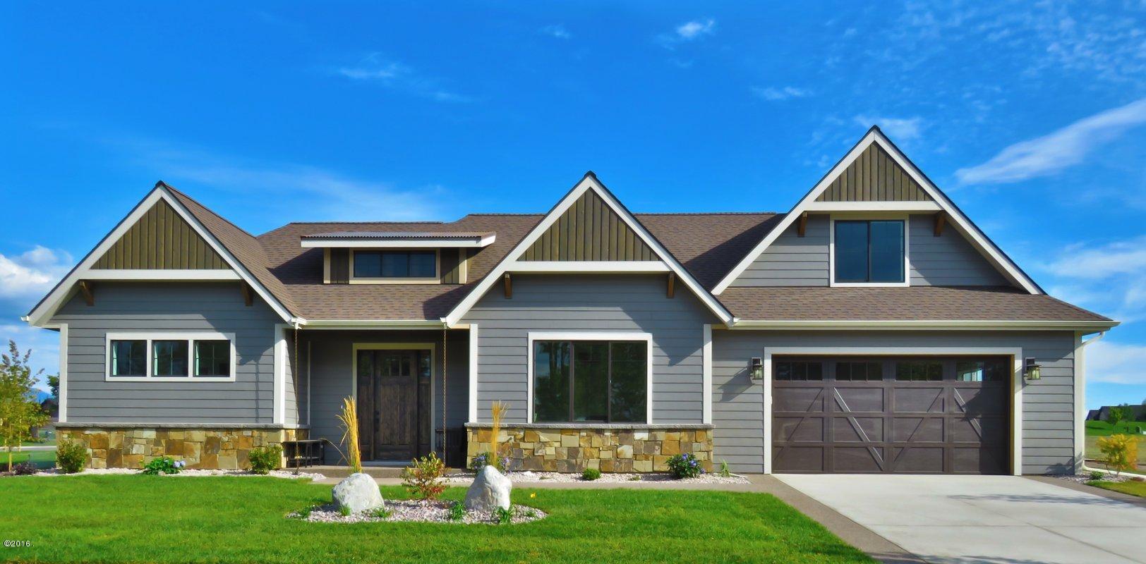 Single Family Home for Sale at 115 Antler Peak Lane 115 Antler Peak Lane Kalispell, Montana 59901 United States