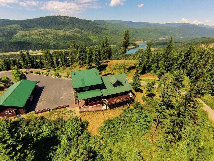 Maison unifamiliale pour l Vente à 1533 Alvord Lake Road Troy, Montana,59935 États-Unis
