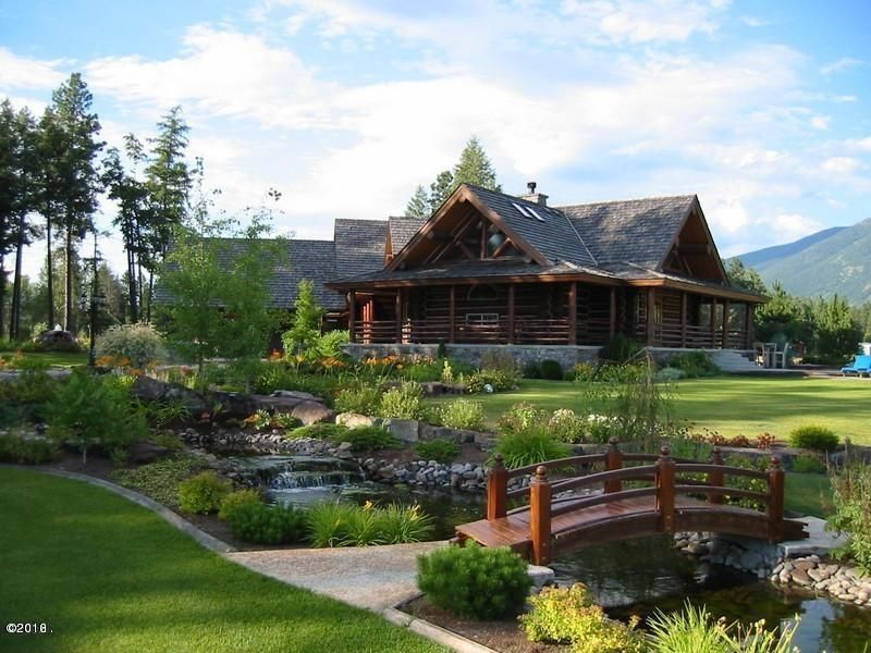 Single Family Home for Sale at 2347 Middle Road Columbia Falls, Montana 59912 United States