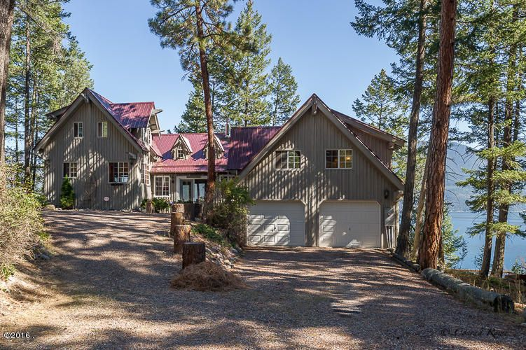 Single Family Home for Sale at 29064 Finley Point Road Polson, Montana 59860 United States