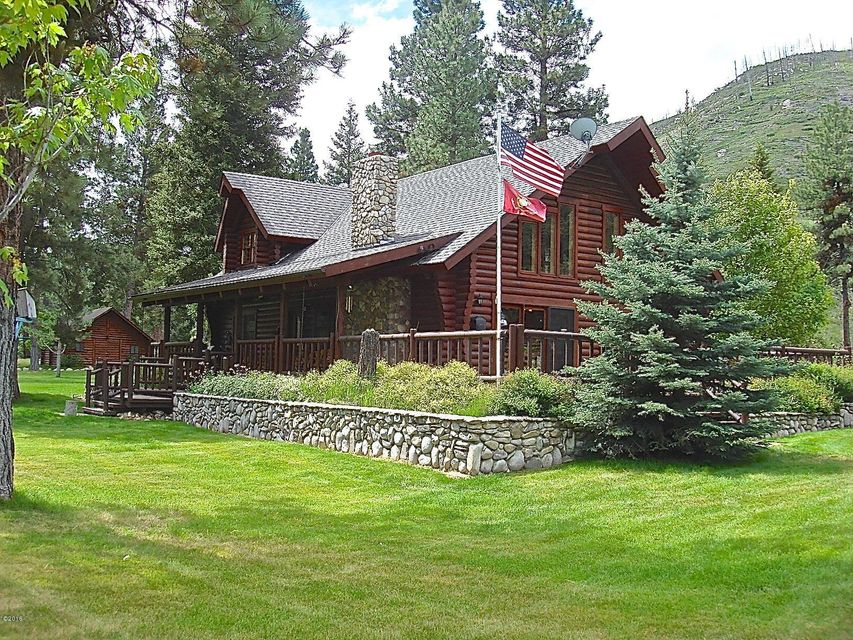 Single Family Home for Sale at 5747 Serenity Lane Conner, Montana 59827 United States