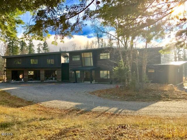 Single Family Home for Sale at 480 Kaeding Creek Road Whitefish, Montana 59937 United States