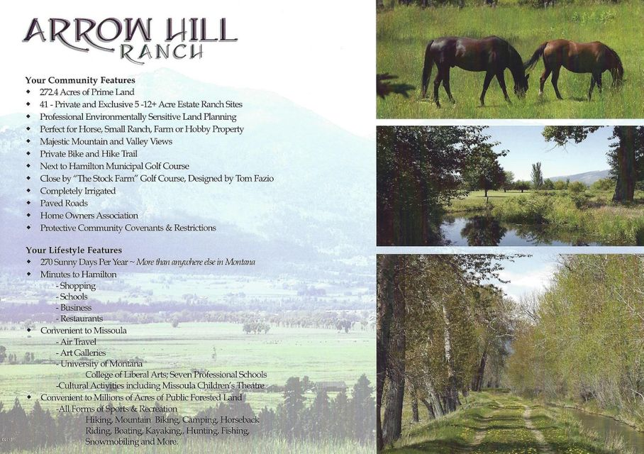 Additional photo for property listing at Nhn Arrow Hill Ranch Road  Hamilton, Montana 59840 United States