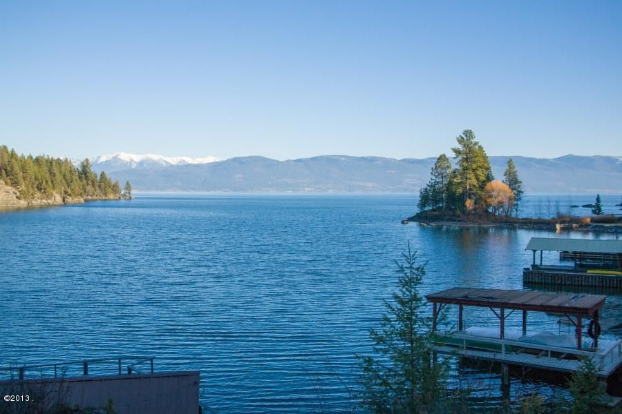 Single Family Home for Sale at 406 Hughes Bay Road Lakeside, Montana 59922 United States