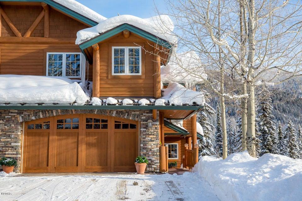 단독 가정 주택 용 매매 에 333 Moose Run Drive Whitefish, 몬타나,59937 미국