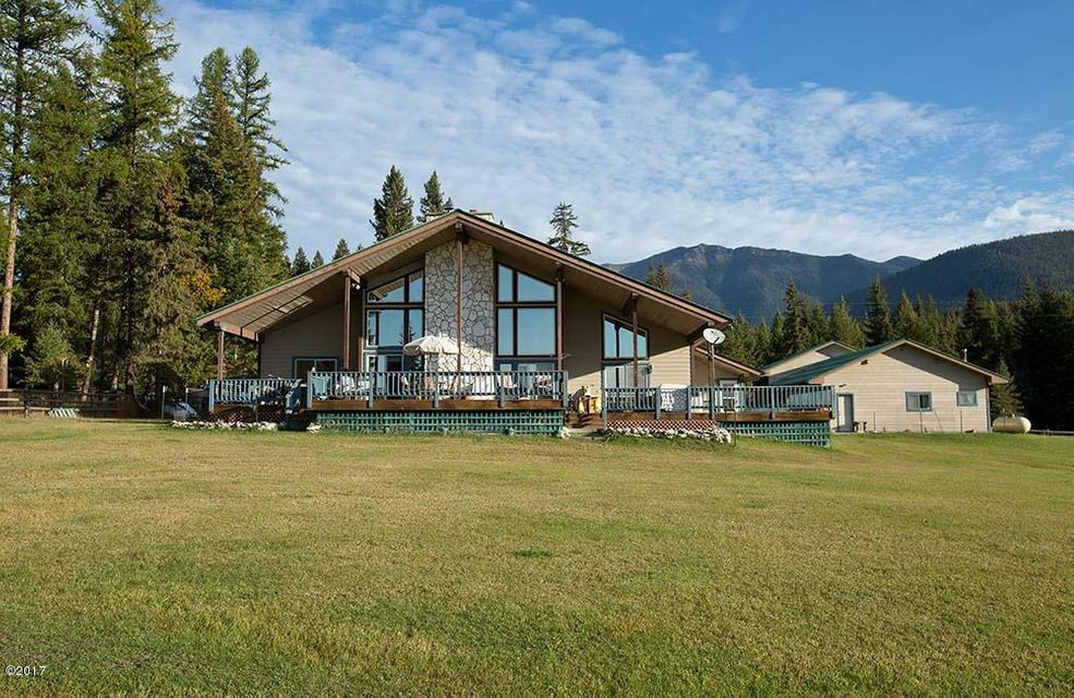 Single Family Home for Sale at 481 Pomeroy Trail Eureka, Montana 59917 United States