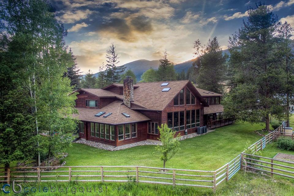 獨棟家庭住宅 為 出售 在 6904 West Fork Road Darby, 蒙大拿州,59829 美國