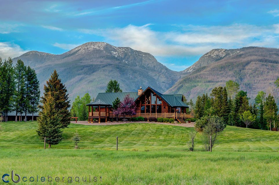 Single Family Home for Sale at 870 Smith Meadows Lane Condon, Montana 59826 United States