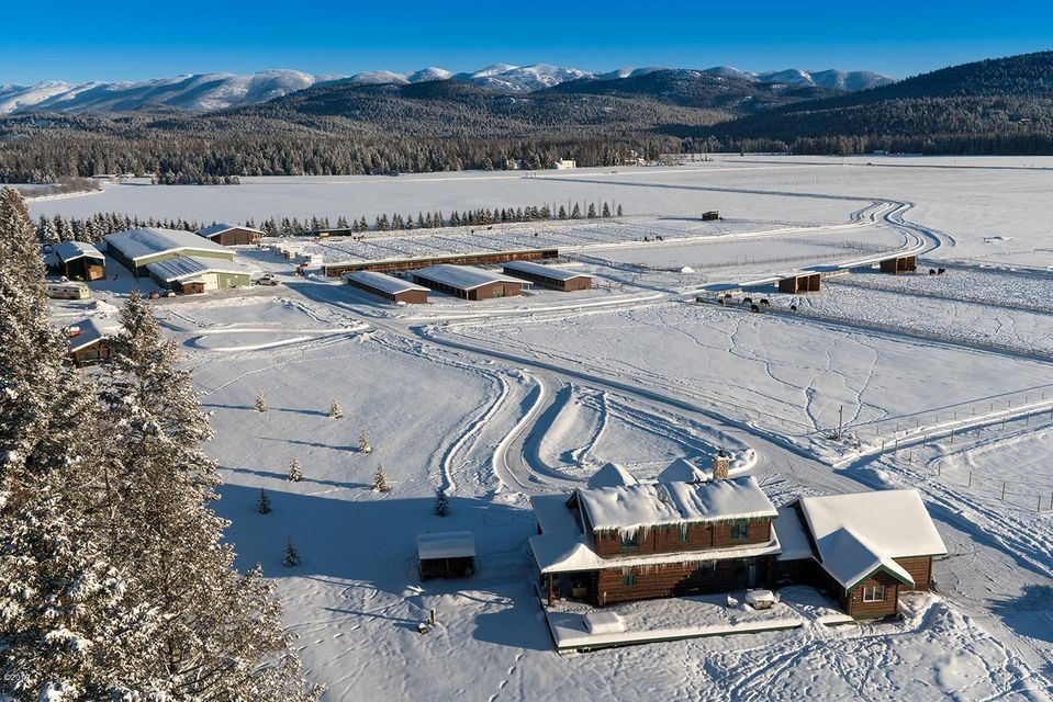 Single Family Home for Sale at 555 Twin Bridges Road Whitefish, Montana 59937 United States