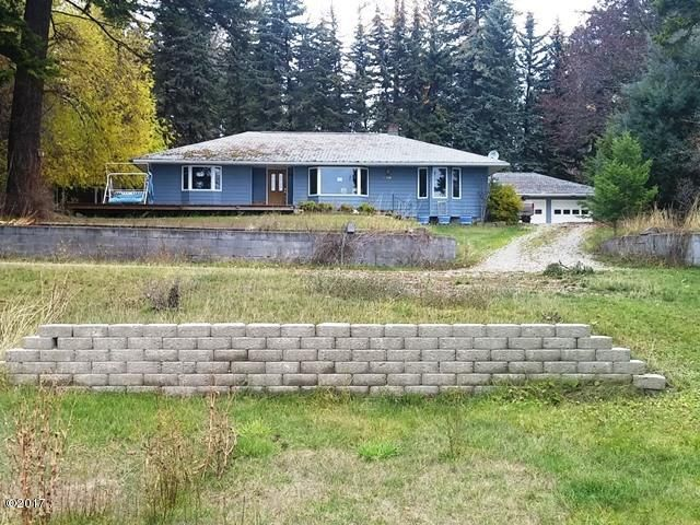 Single Family Home for Sale at 22189 Rollins Lakeshore Drive Rollins, Montana 59931 United States