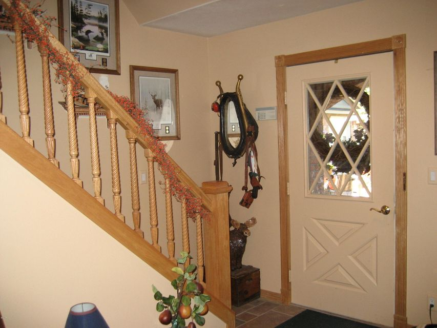 Back doorway