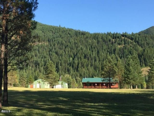 Single Family Home for Sale at 64 Solid Rock Road Noxon, Montana 59853 United States