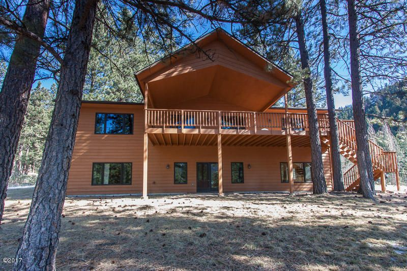 Single Family Home for Sale at 4405 Johnsrud Park Road 4405 Johnsrud Park Road Bonner, Montana 59823 United States