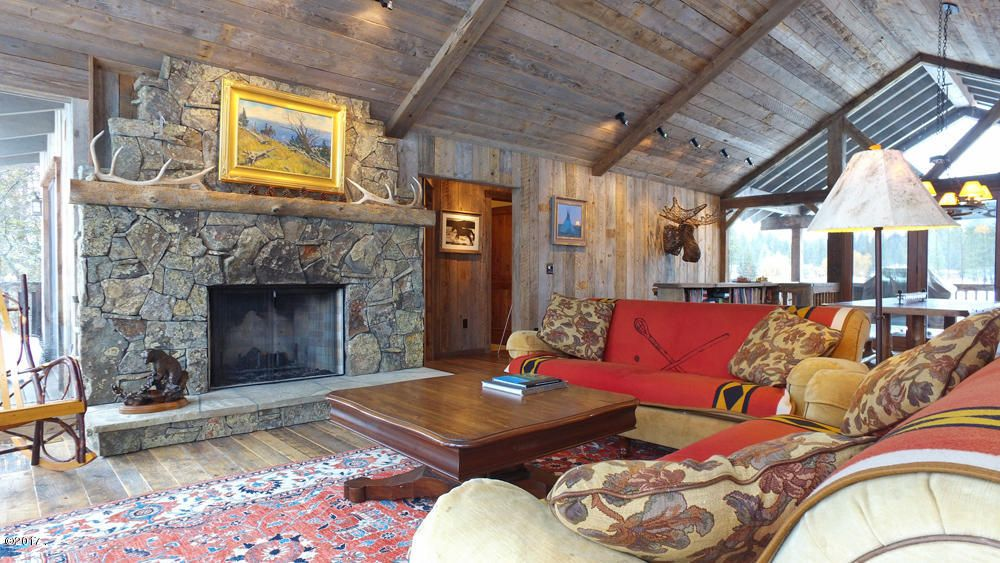 Single Family Home for Sale at 599 East Village Drive 599 East Village Drive Bigfork, Montana 59911 United States
