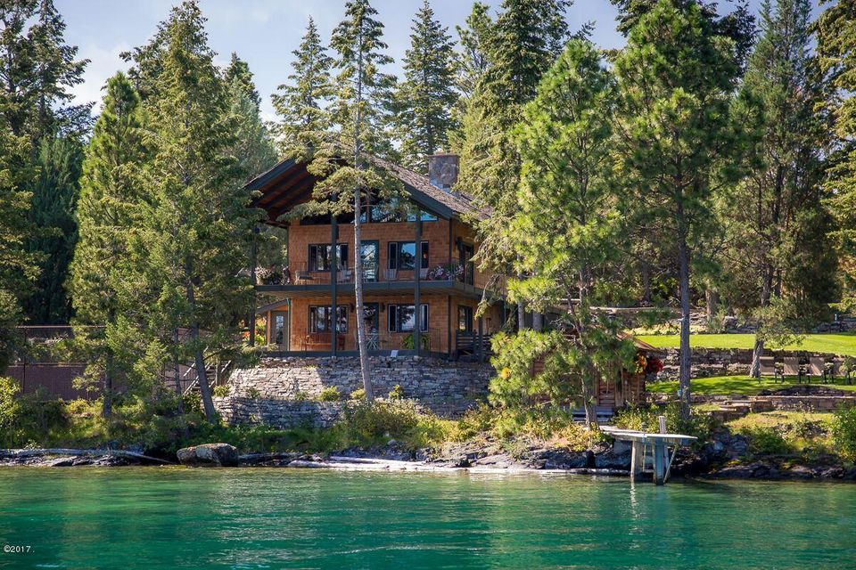 Additional photo for property listing at 1041 Angel Point Road 1041 Angel Point Road Lakeside, Montana 59922 United States