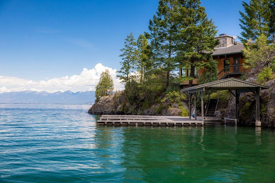 Jewel Of Flathead Lake A Luxury Home For Sale In Lakeside