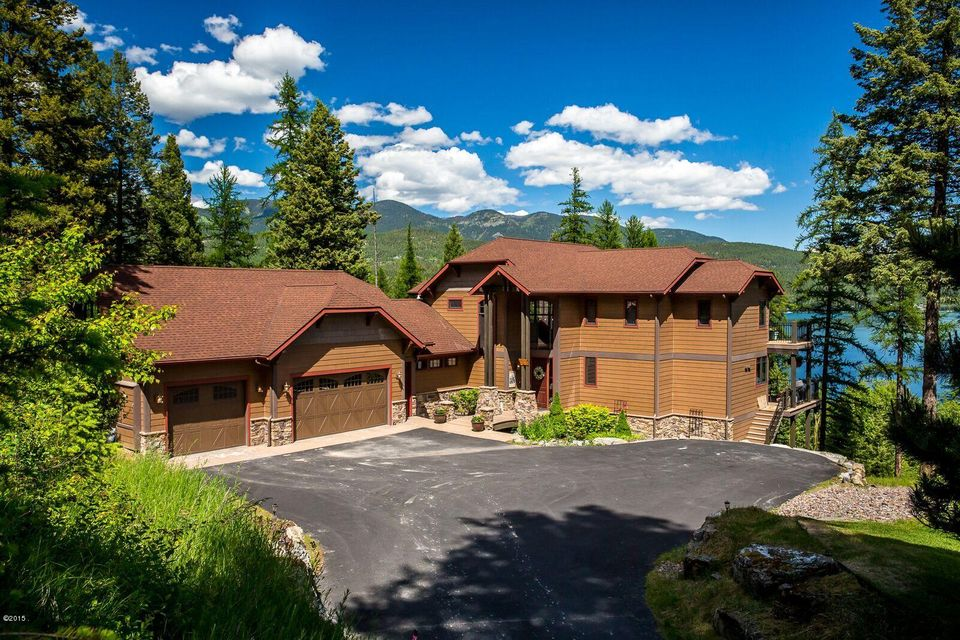 Single Family Home for Sale at 1485 Lakeview Lane Whitefish, Montana 59937 United States