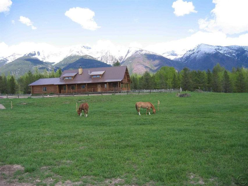 Single Family Home for Sale at 551 Rumble Creek Road Condon, Montana 59826 United States