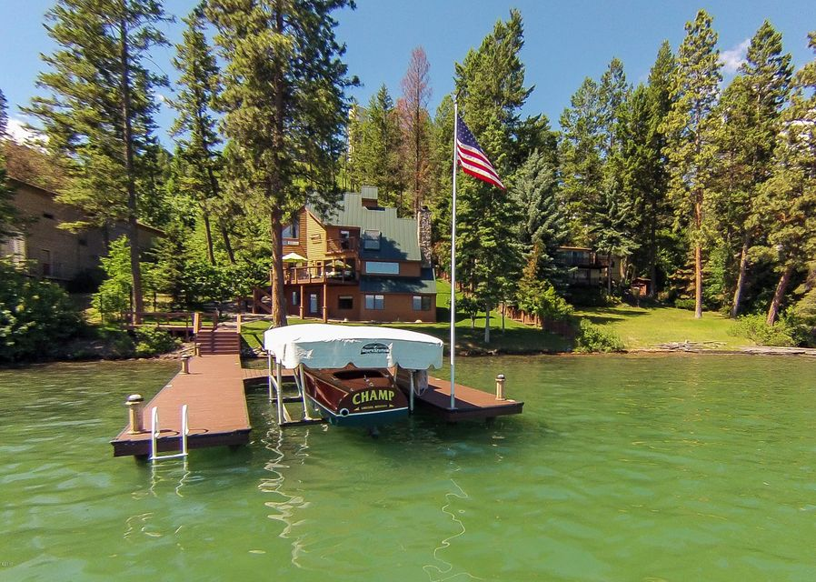 Single Family Home for Sale at 423 Lakeshore Drive Lakeside, Montana 59922 United States